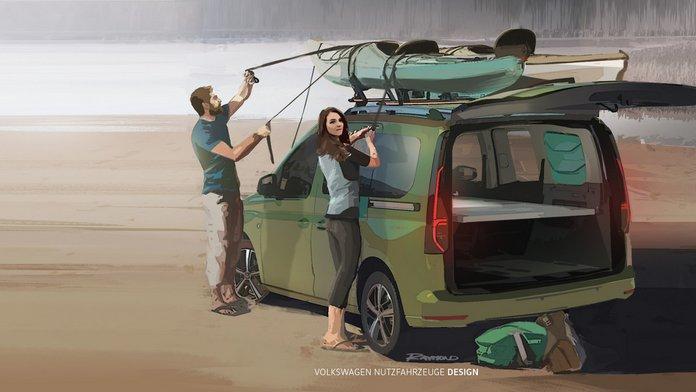 Το αυτοκινούμενο VW Caddy Beach αλλάζει και θα ονομάζεται Mini Camper